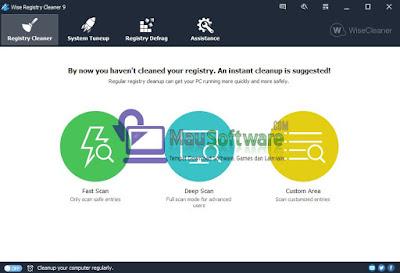 download software registry cleaner terbaru, terpopuler, terbaik, terbagus, cara membersihkan sampah registry dengan benar-benar bersih