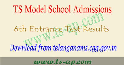 TSMS Results 2021-2022 manabadi, ts model school entrance