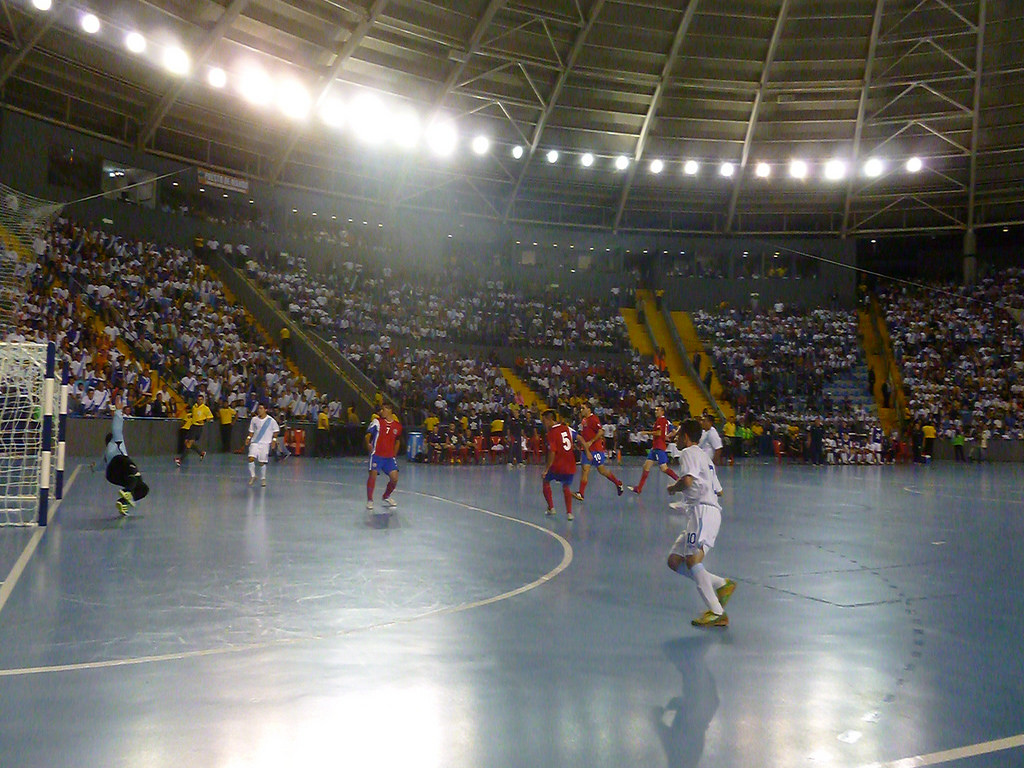Gambar Lapangan Futsal Lengkap Beserta Ukuran Dan