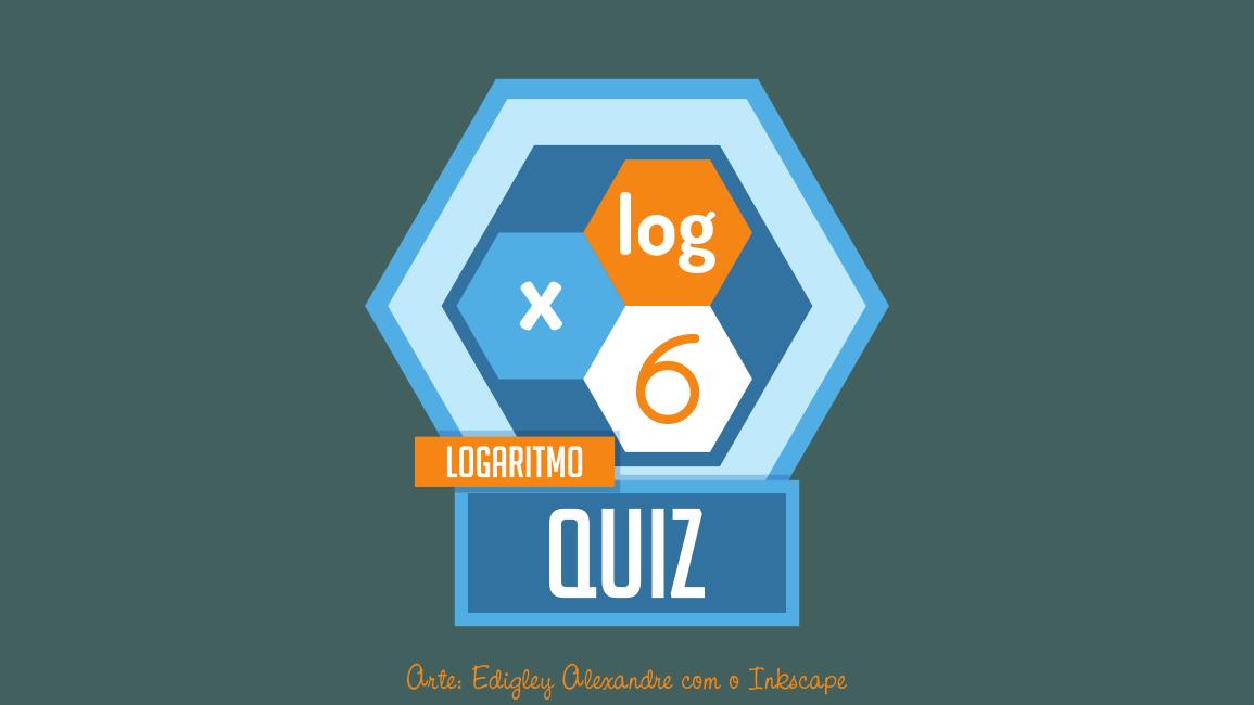 Quiz matemático 6: equação logarítmica