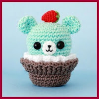 Pequeño osito muffin