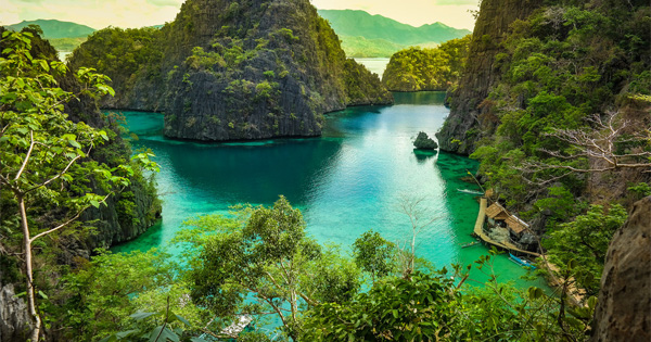 Kayangan Lake in Coron, Palawan, Philippines