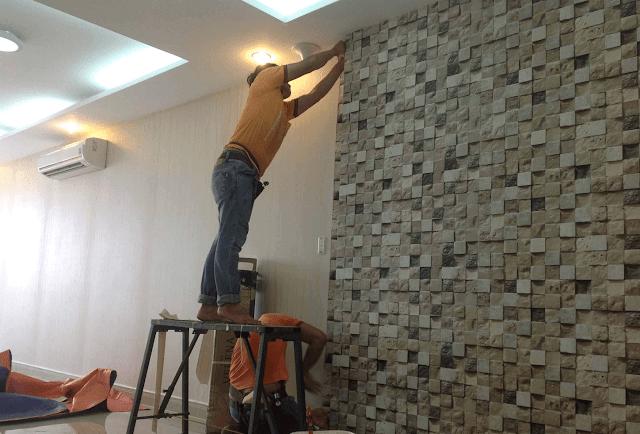 Hướng dẫn thi công giấy dán tường đúng cách!