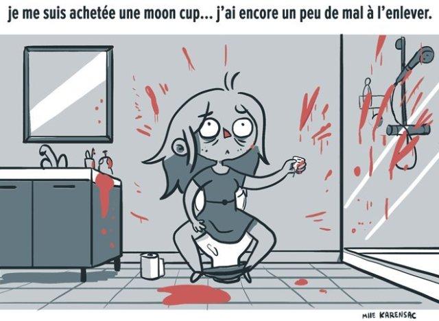 Humeur mon exp rience avec la cup menstruelle my fair jenny - Mise en place coupe menstruelle ...