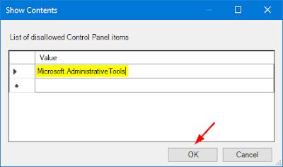كيفية إخفاء العناصر من لوحة التحكم في ويندوز 10