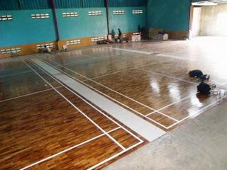 contoh pemasangan lantai kayu di surabaya