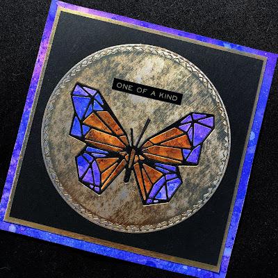Sara Emily Barker https://sarascloset1.blogspot.com/2019/01/tim-holtz-geo-springtime-and-more.html Tim Holtz Geo Springtime Cards Tutorial 2