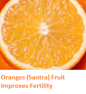 Health Benefits of Oranges (Santra) Fruit Improves Fertility