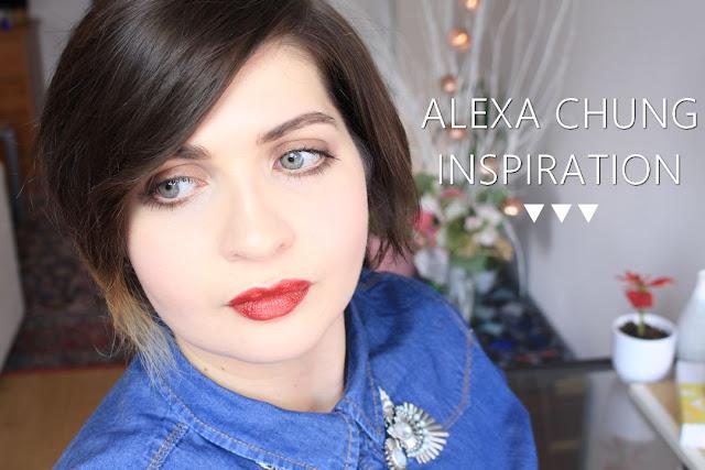 Alexa Chung Make-up
