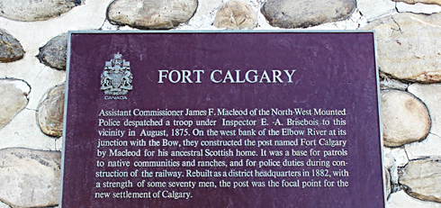 fort calgary alberta historic site nwmp