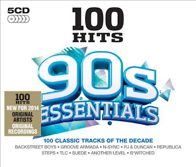 100 Hits 90s Essentials 2013 5CD Mp3 320 Kbps