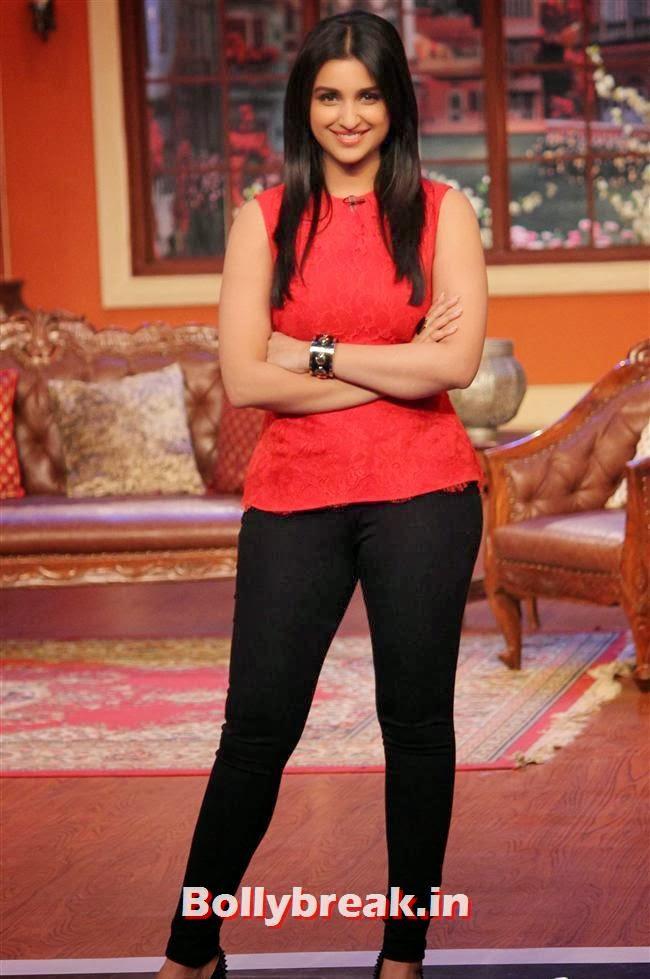 Parineeti Chopra, Parineeti & Sidharth on Comedy Nights with Kapil