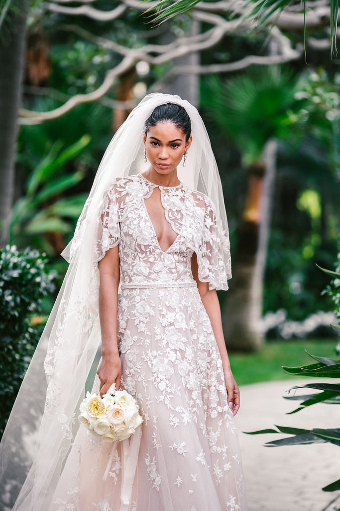 Chanel Iman and Sterling Shepard got married at the Beverly Hills Hotel in Beverly Hills, California