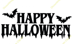 photo relating to Printable Halloween Banners named No cost Printable pleased halloween banner clipart template png