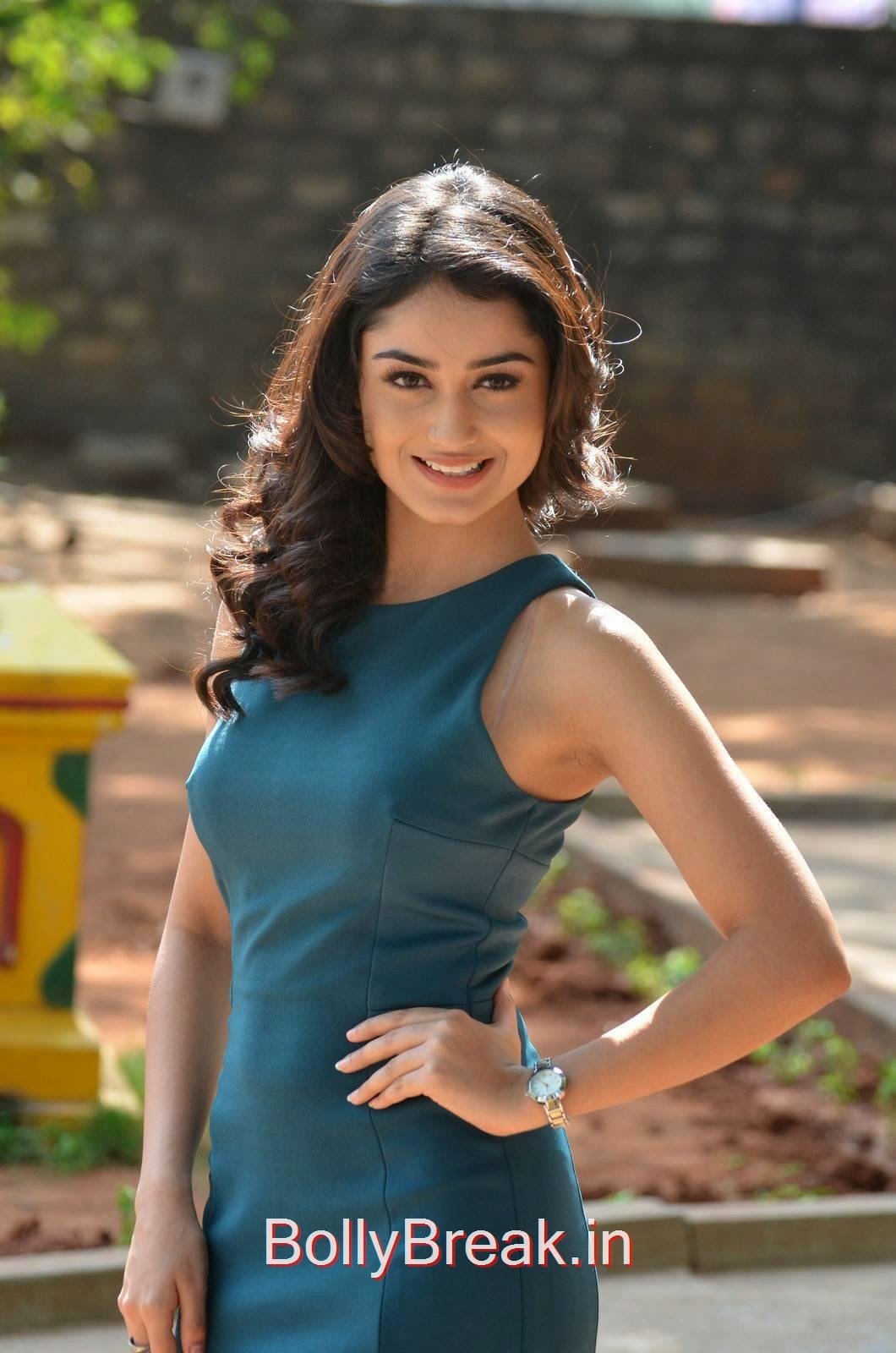 Tridha Choudhury Photoshoot Stills, Tridha Choudhury Hot Pics In Blue Dress