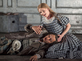 Donizetti: Lucia di Lammermoor - Eleazara Rodriguez, Sarah Tynan- English National Opera (Photo John Snelling)