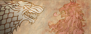 emblemas Stark VS Lannister