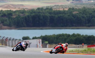 motos circuito motorland hostal alcorisa teruel