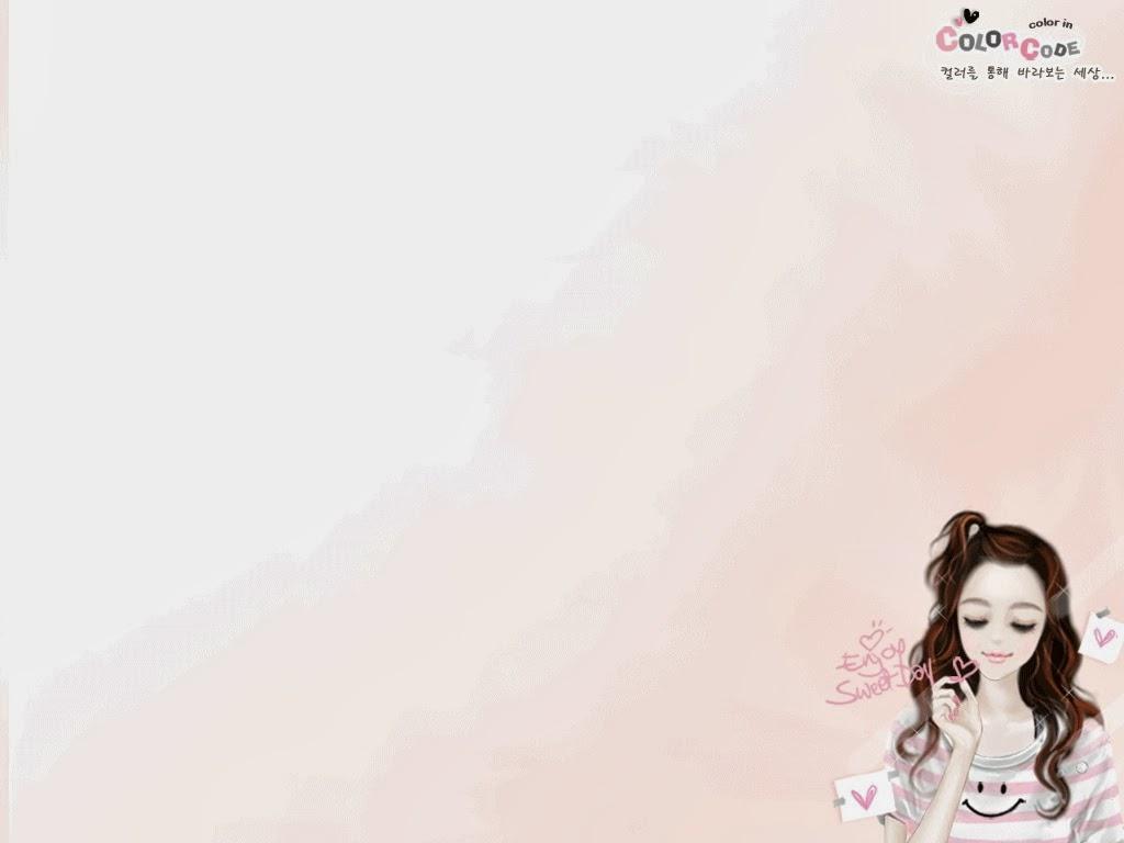 AH SALAH AH: Gambar Kartun Korea Girl