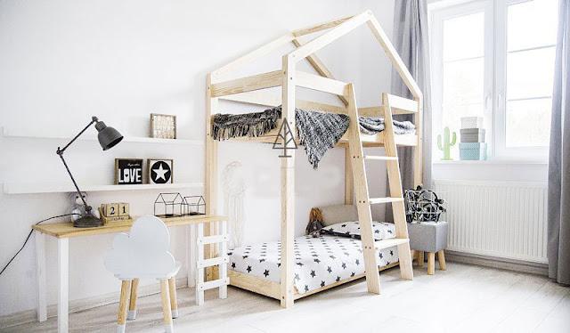 Łóżko dla małego marzyciela