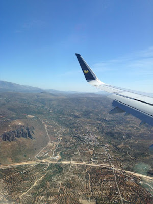 crete, flight, thomas cook,airplane, greece