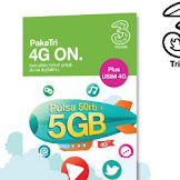 INFO VOUCHER INTERNET TRI 4 GB HANYA Rp50.000 DI ALFAMART
