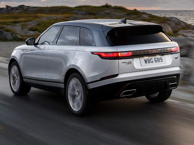 Range Rover Velar tem aumento de preços de até R$ 15 mil