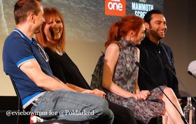 Poldark S2, BFI, Poldark Panel, Q&A, Aidan Turner, Eleanor Tomlinson, Debbie Horsfield, Damien Timmer,