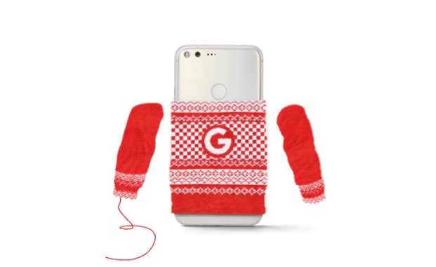 Google giving away mini sweaters for your Pixel in NYC