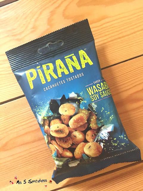 Piraña cacahuetes