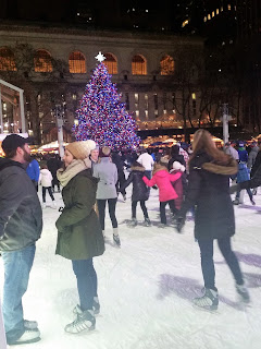 Bryant Park at Christmas