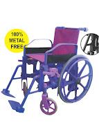PVC Plastic Shower Wheelchair