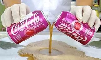 Coca-Cola Cherry COKE Plus FRESH Cherry Ice Cream Rolls