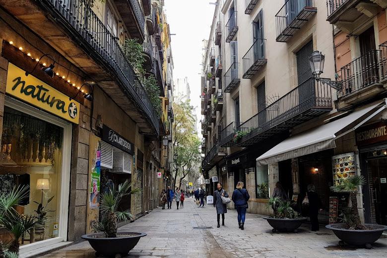 巴塞隆納街景