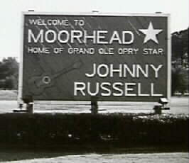Johnny Russell Moorhead Sign