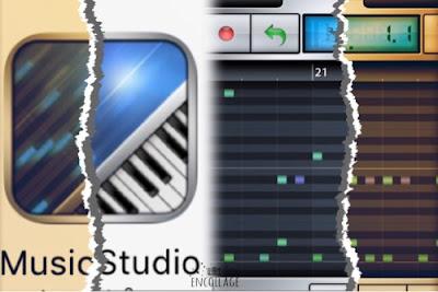 MusicStudioアプリイメージ