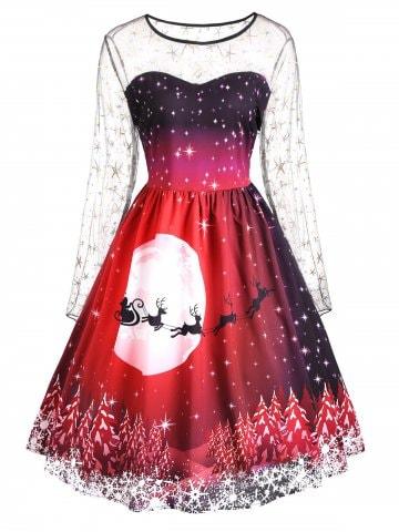 https://www.dresslily.com/plus-size-christmas-print-mesh-insert-dress-product2316322.html