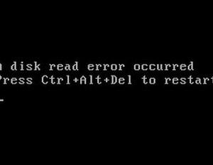 cara cepat memperbaiki komputer error disk read error occurred