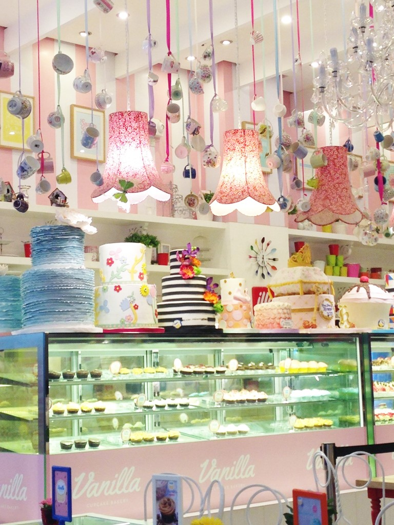 Afternoon Tea at Vanilla Cupcake Bakery