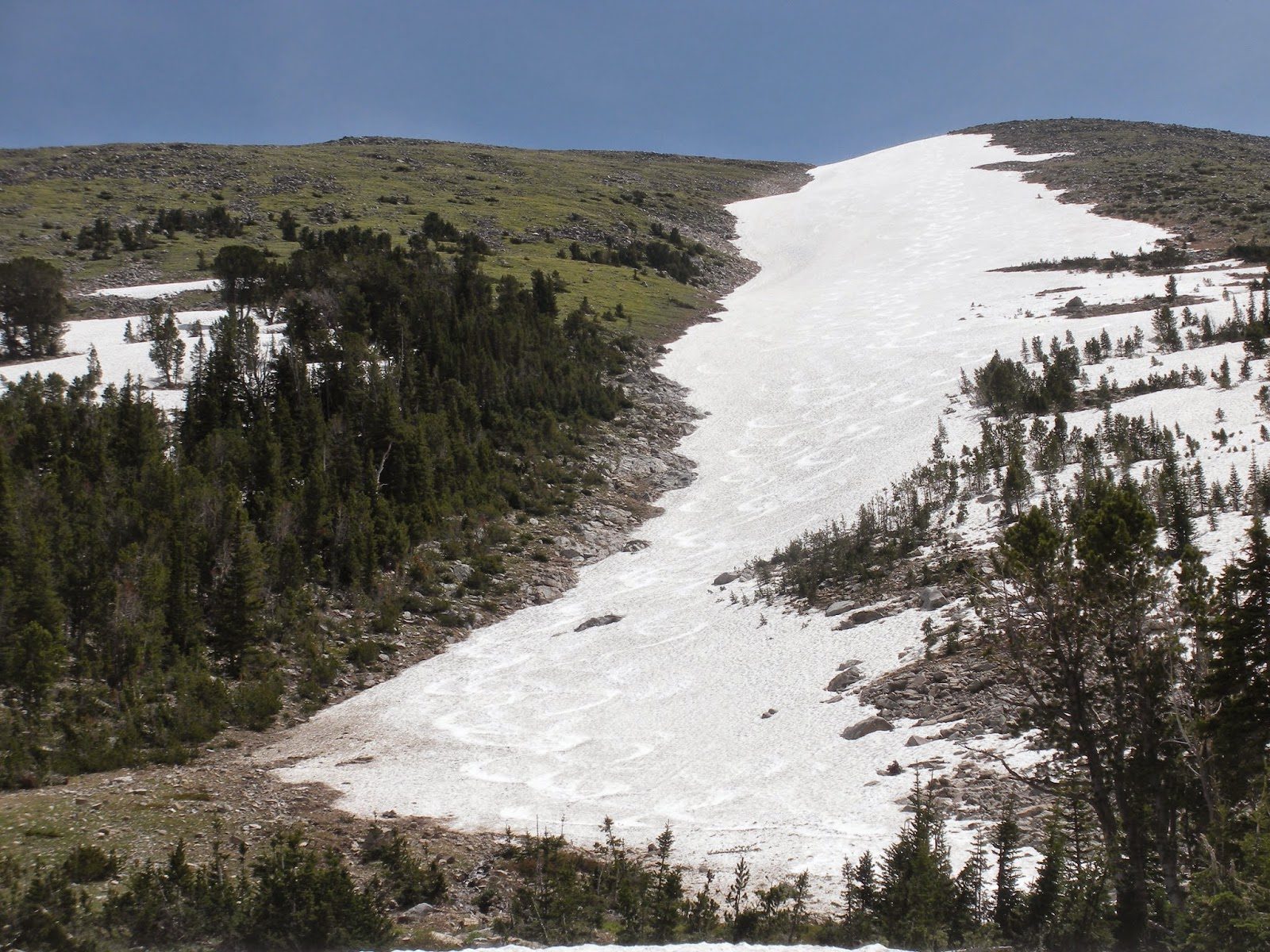 The Blaze is an iconic ski summer or winter. Located in the Madison Range, it is an easy drive from Bozeman
