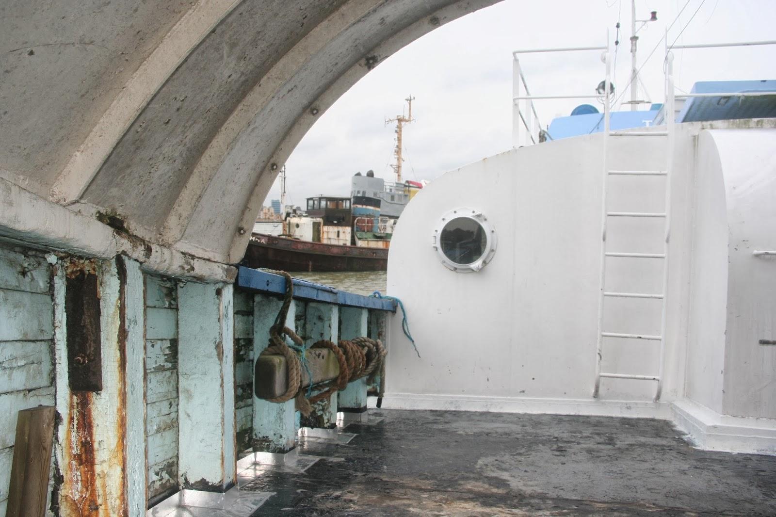 Renovating Tino A Wooden Danish Fishing Trawler Houseboat