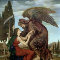 'Azrael (Evelyn De Morgan)'