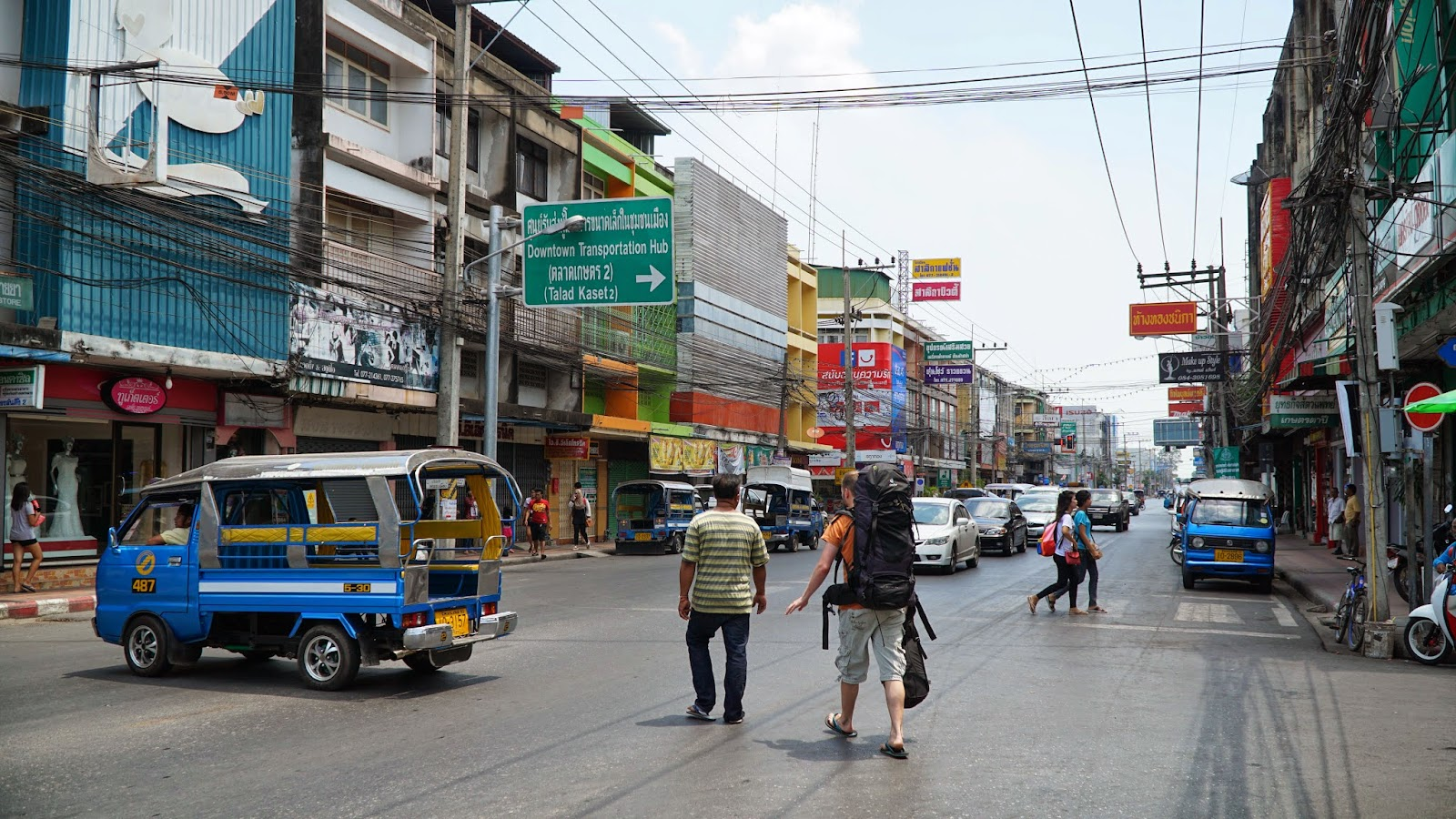 Spent a brief time in Surat Thani town