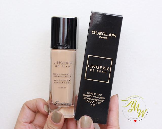 a photo of Guerlain Lingerie De Peau review in shade 02N Light