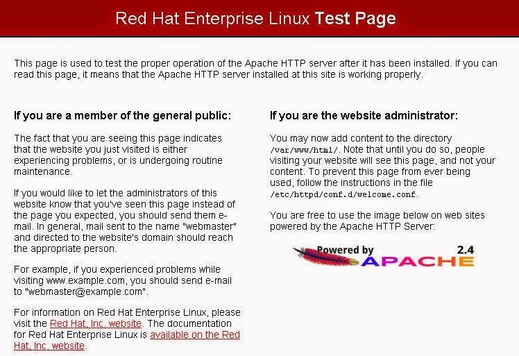 八克里: RHEL 7 yum repository 安裝Apache + PHP 網站服務