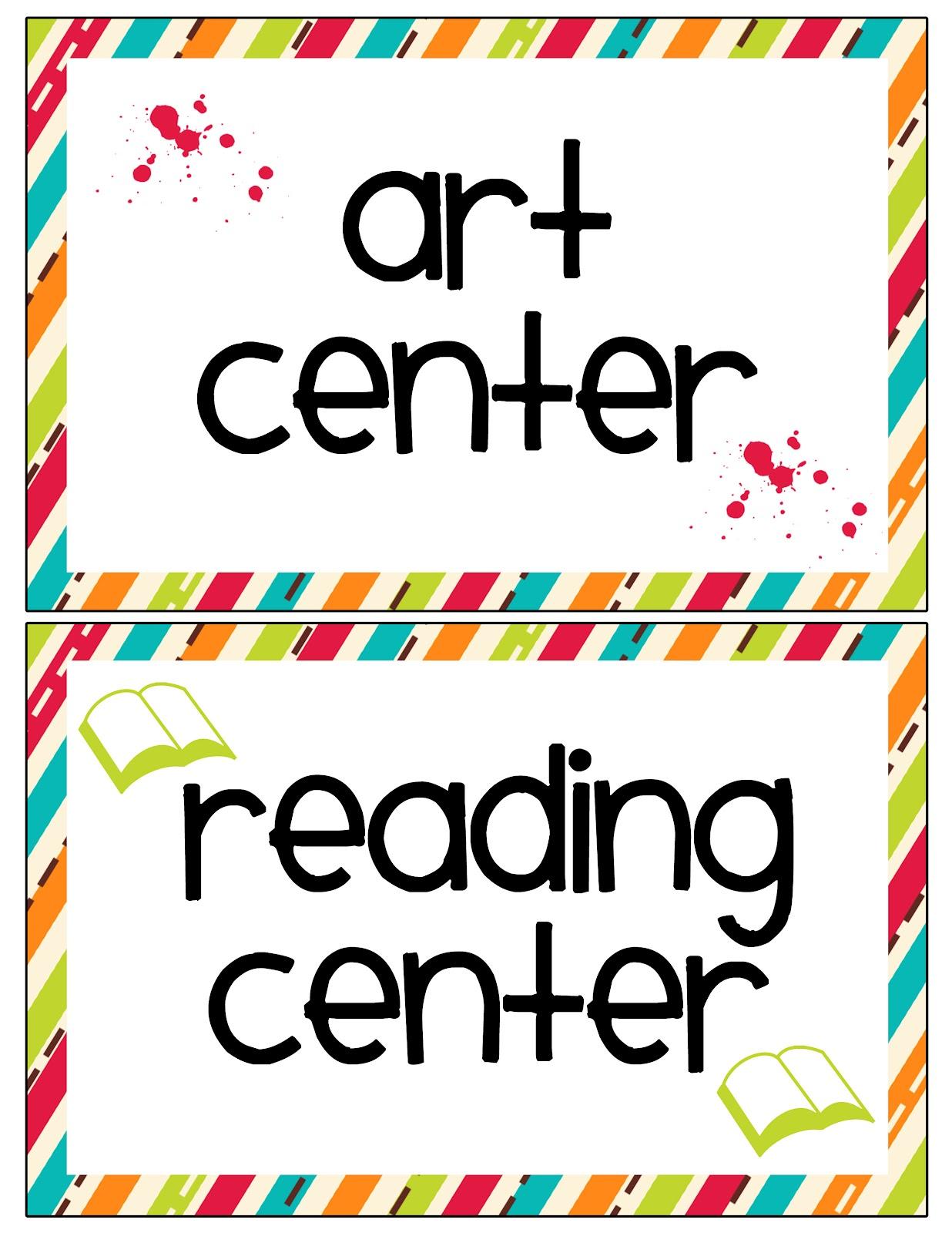 Lawteedah Classroom Center Labels