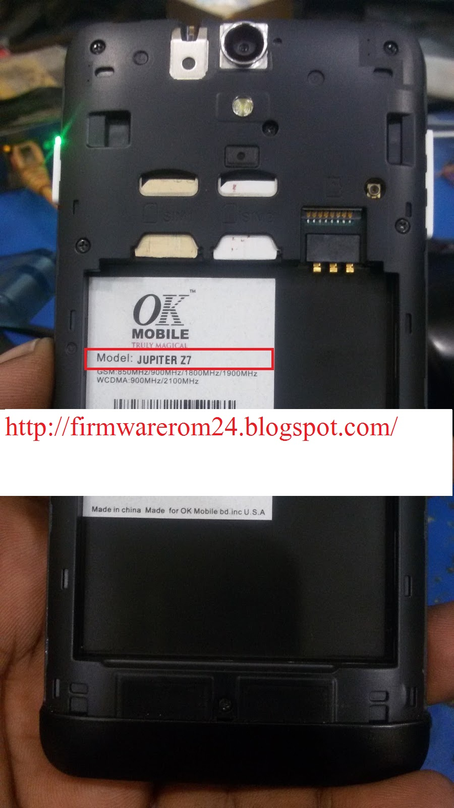 Samsung J310H clone/china MT6572 flash file/firmware