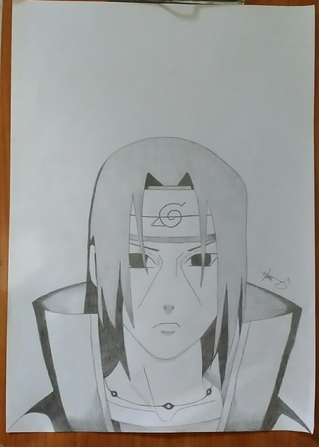 Cara Mudah Menggambar Karakter Di Anime Naruto Uchiha Itachi