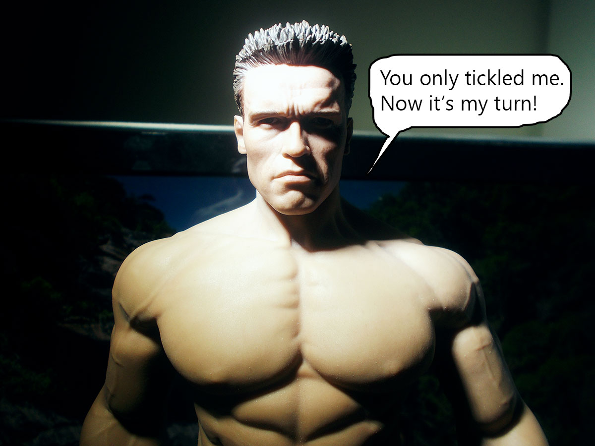 tbleague - Comic: Arnold Schwarzenegger VS Bruce Lee 27-turn