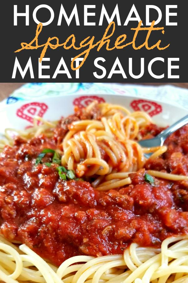 How to make easy homemade spaghetti sauce